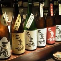 お勧めの日本酒