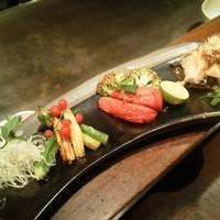 野菜の鉄板焼き