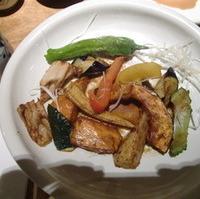 野菜たっぷりランチ