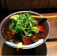 牛スジと近江こんにゃくの味噌煮