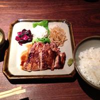 炭火焼チキンステーキ定食