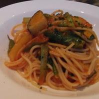 いろいろ有機野菜のスパゲッティアラビアータ