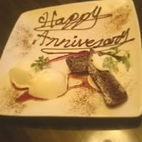 記念日用のデザート!