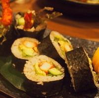 海老フライ太巻き寿司