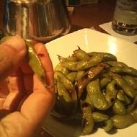 ガーリックバター枝豆