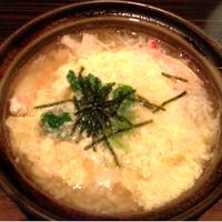 土鍋で炊いた雑炊