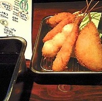 串カツ5種盛り