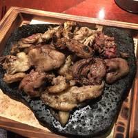 5種鶏ホルモンの炭火炙り