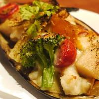 茄子と野菜のグラタン焼