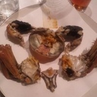 活上海蟹の姿蒸し