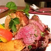 牛ヒレ肉とフランス産フォアグラのポワレ ~Xmasを彩るマディラソース~