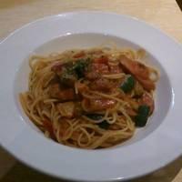 チョリソーと彩り野菜のトマトセット