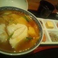 くずし豆腐丼