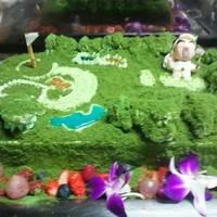 料理(10品)+飲み放題+会場費+オリジナル特注ケーキ