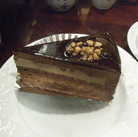 チョコレートケーキアーモンド