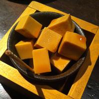 チーズの醤油漬け