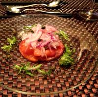 ニュージーランド産スモークサーモンのサラダ