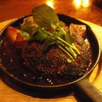 鉄板和牛ハンバーグ