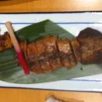 丸干し烏賊(肝入り)炙り焼き