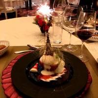 メレンゲと焼きリンゴのクリスマス デセーレボーン・ナターレ!