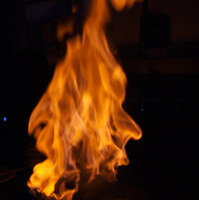 スペアリブの火葬焼き