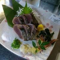 従業員さんイチオシのかつお塩たたきの旨さにビックリ( ☆∀☆)美味しい料理をありがとうございました。