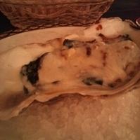 牡蠣のグラタン フェレンツェ風