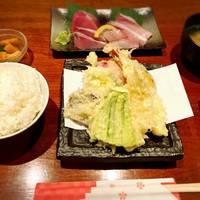 お刺身・天ぷら定食