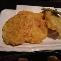 辛子蓮根の天ぷら