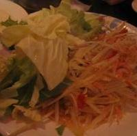 ソムタム 青パパイヤのサラダ