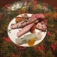 白金豚ロースの塩焼き