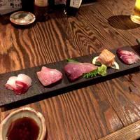 お通し宮崎県の漁師さんから直送なので、毎日美味しいお刺身が頂けます!新鮮さが違います(^^)