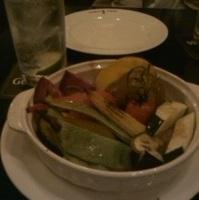 季節野菜のバーニャカウダ オーブン焼き