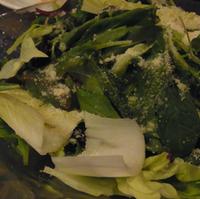 新鮮野菜のほろ苦サラダ