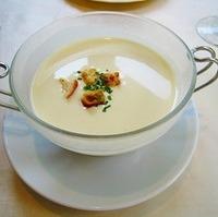 さつまいもの冷たいスープ