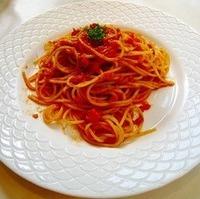 ツナのトマトソーススパゲッティ