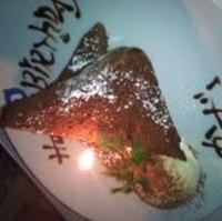 誕生日サプライズケーキ