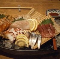 海鮮五種盛り
