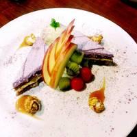 紫いものケーキ