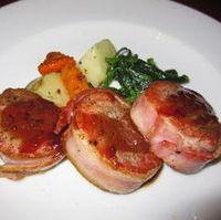 豚フィレ肉のベーコン巻き