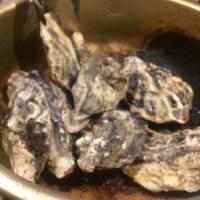 牡蠣のガンガン焼き 調理前
