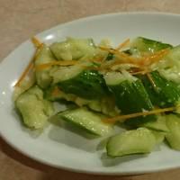 キュウリの冷菜