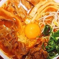 中華そば 肉入大盛り