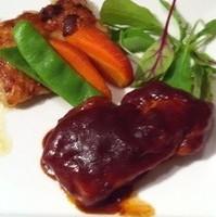 マテ茶鶏のポワレ マレンゴ風味