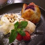 紫芋のホットパイ