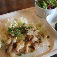豚肉の梅しょうが焼きプレ-ト