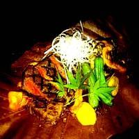 常陸牛フィレの朴葉味噌焼き