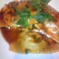 鴨とリコッタチーズのラビオリ