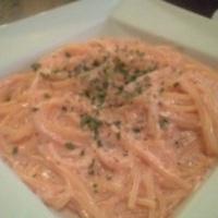 明太子クリームソーススパゲッティ