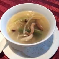 旬野菜とアヒルのスープ